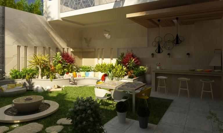 The Japanese Garden Inverse Architecture