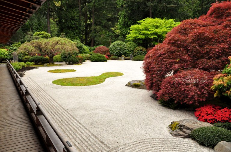 Buddhist Ceremony Traditional Japanese Garden: INVERSE ARCHITECTURE