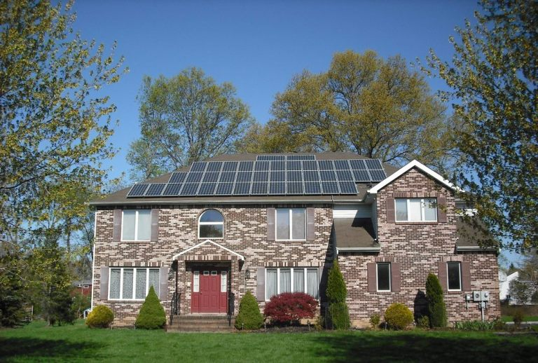 14-10-kw-Sharp-Solar-composition-shingle-roof-solar-home-system