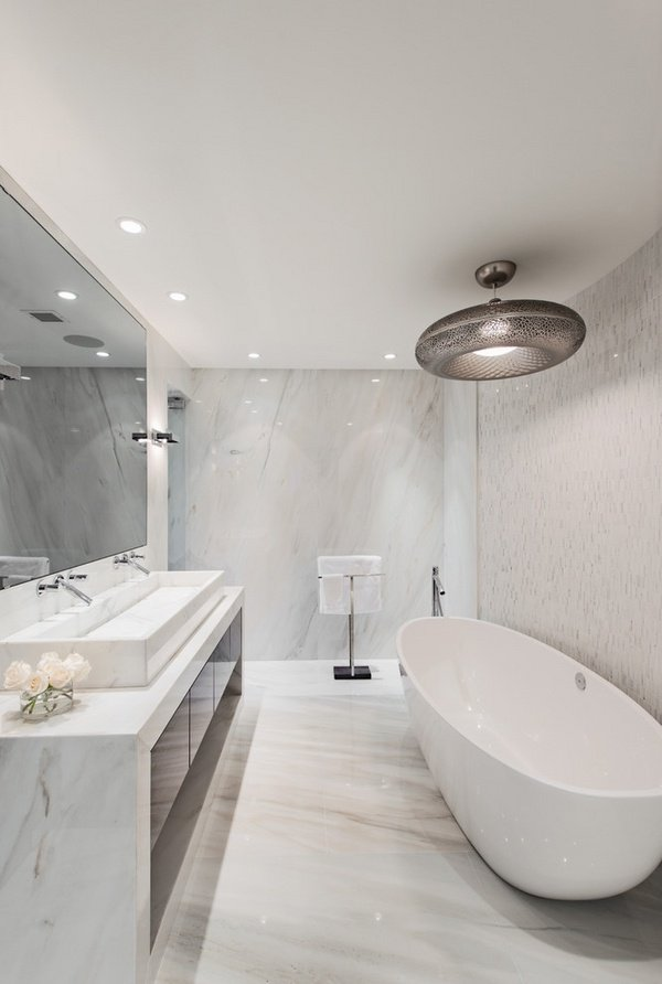 elegant-modern-bathroom-design-marble-bathroom-tiles-freestanding-tub-wall-mirror