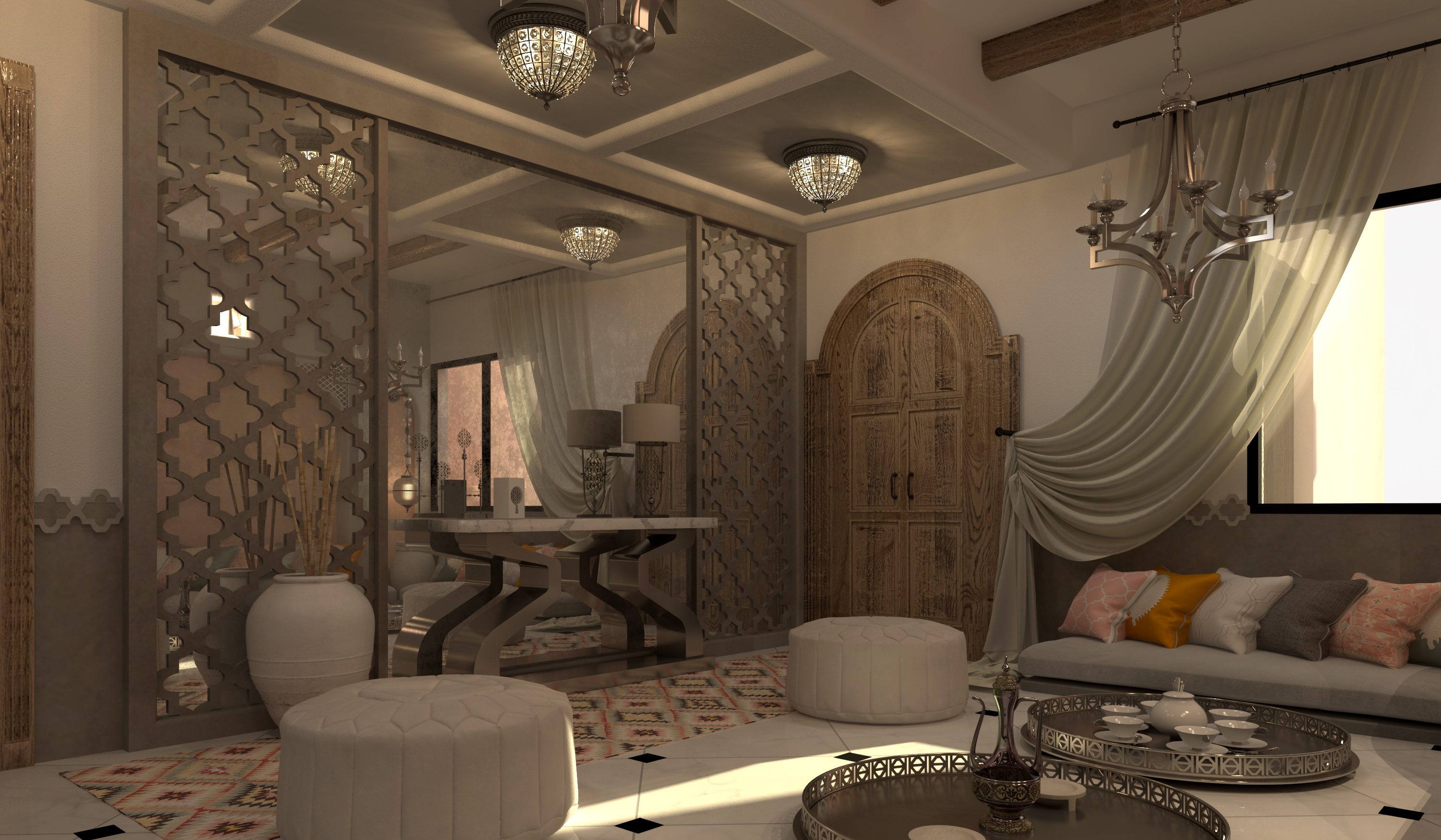 By Inverse Interiors